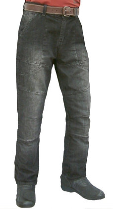 Mens Demin jeans containing certified Dupont Kevlar BLUE