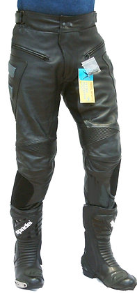 MAGNUM mens leather trousers