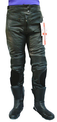 MINX ladies leather motorcycle jeans