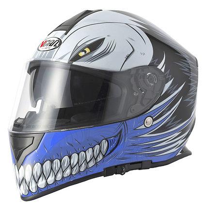 Vcan  HOLLOW    Full face helmet  (red blue or black)