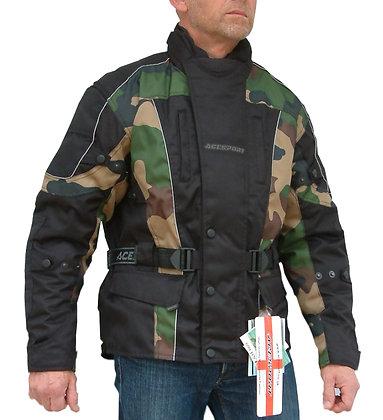BUSH CAMOUFLAGE Cordura motorcycle  jacket
