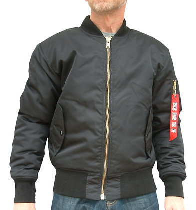 BOMBER Kevlar lined motorcycle jacket