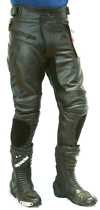 HORNET  mens leather trousers