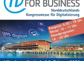IT FOR Business 2020 - Kongressmesse Lübeck