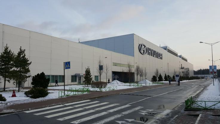 상트-현대자동차공장