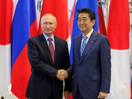 러시아와 일본의 교역량을 1.5배로 증가할 수 있다고 푸틴 대통령이 언급하였다