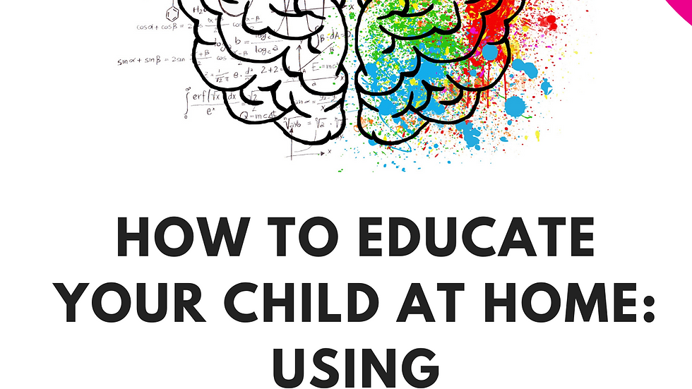 PRE-ORDER: How to Educate Your Child at Home: Using Psychological Principles