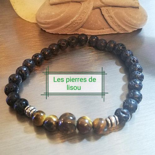 Bracelet tigre du volcan