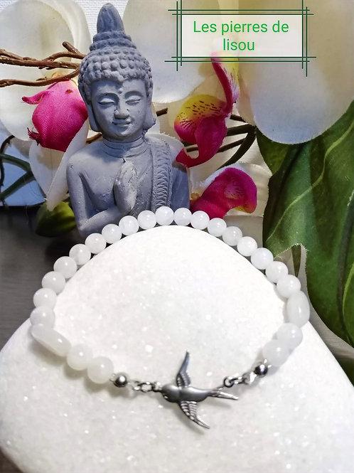 bracelet connecteur oiseaux