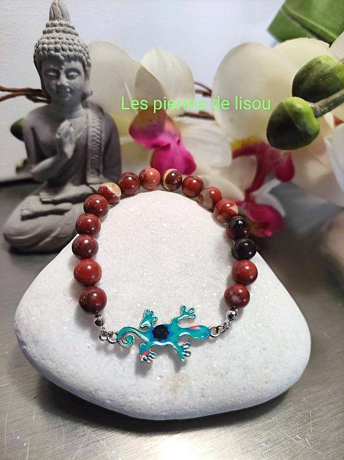 bracelet connecteur salamandre