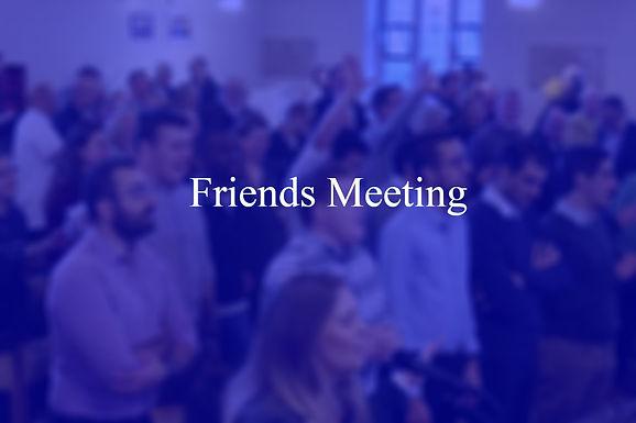 Friends Meeting Oct 2020