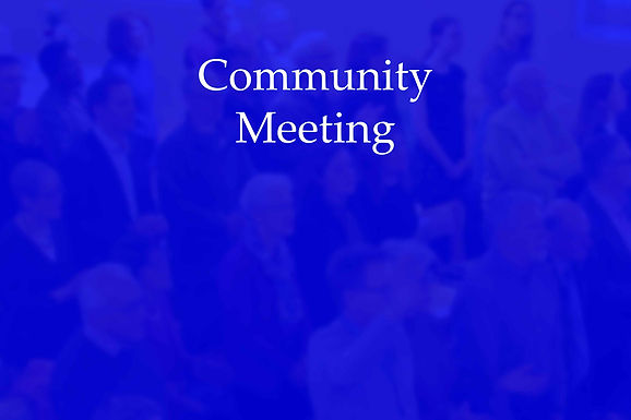 Community Meeting - July 2020