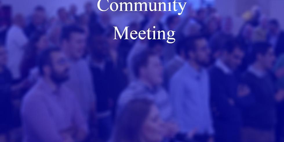Community Meeting Early Feb 2021