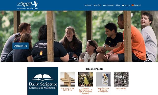 New Sword of the Spirit website