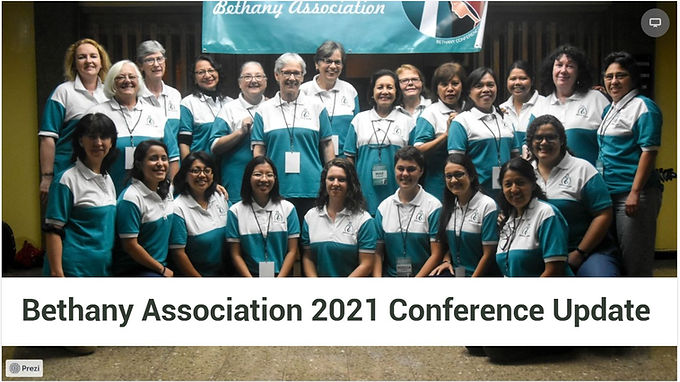 Bethany Association 2021 Conference Update