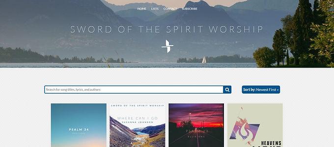 Sword of the Spirit worship site