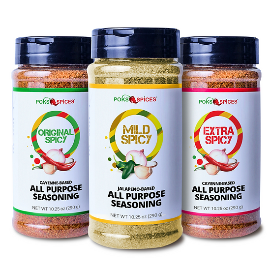 Spicy West African Seasoning Combo (Bottle)