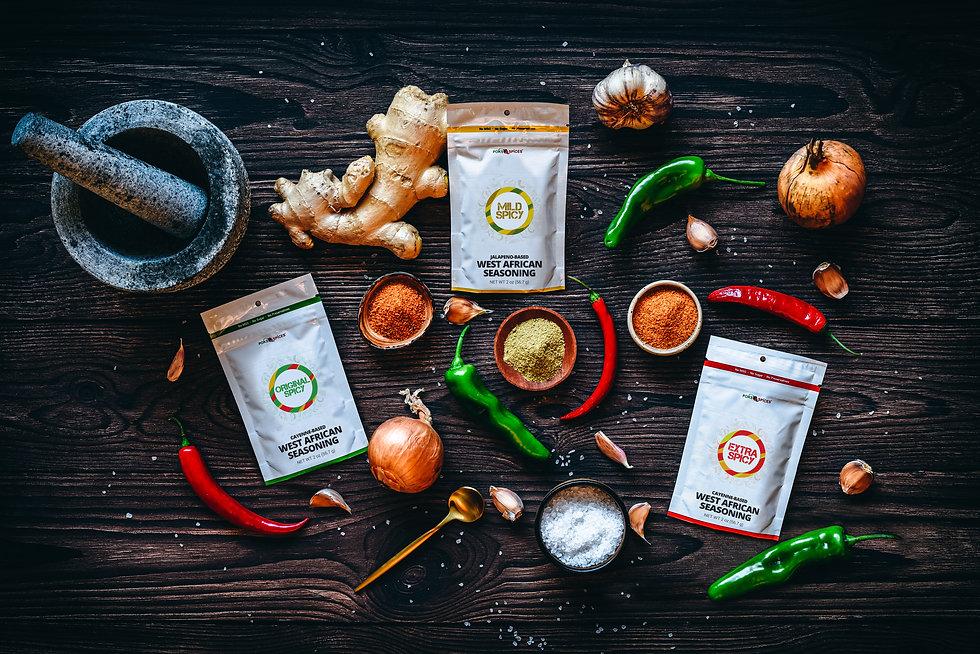 Website Banner Image - POKS Spices