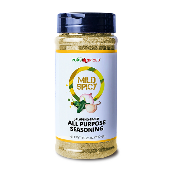 Jalapeño-Based West African Seasoning (Mild Spicy) 10 oz