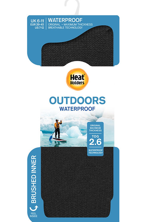 Heat Holders Mens Waterproof Sock