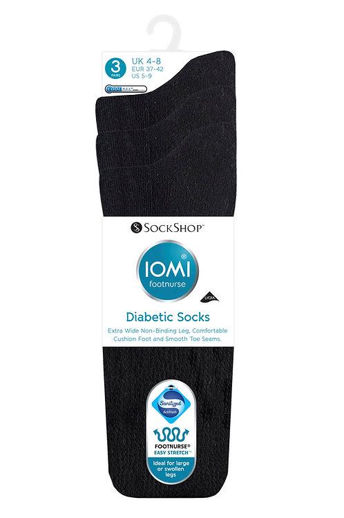 Ladies IOMI Footnurse Diabetic 3Pack