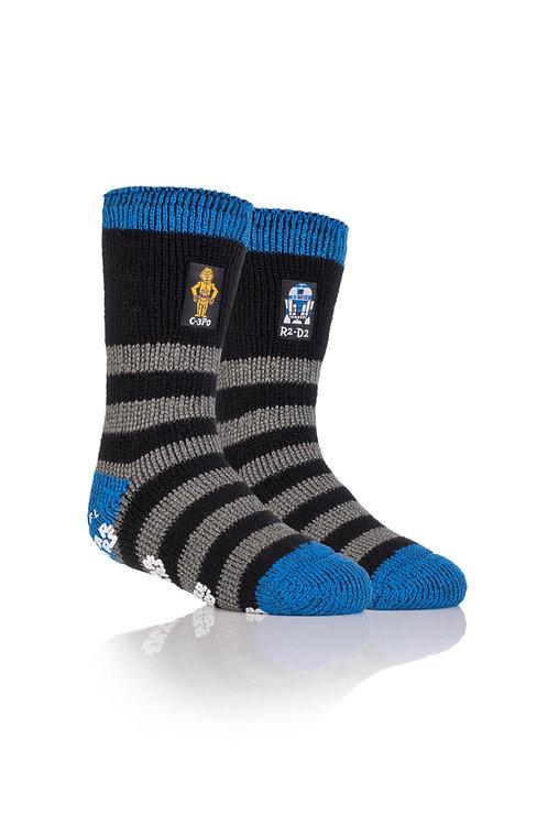Kids Heat Holder Star Wars Slipper Sock