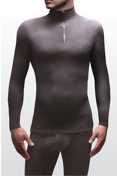 Mens Heat Holders Microfleece Long Sleeved Top