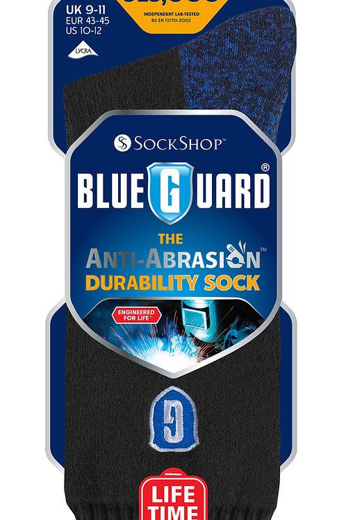 Mens BlueGuard Anti-Abrasion Durability Sock