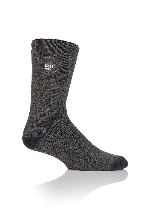 Mens LITE Heat Holders - Charcoal/ Grey