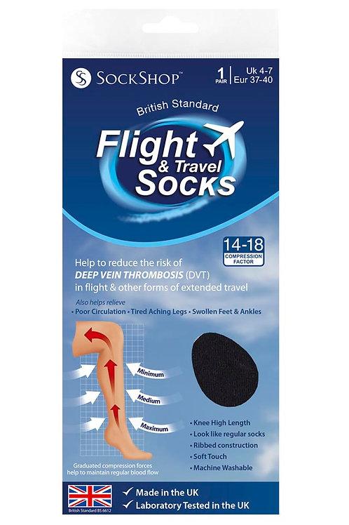 Ladies Flight & Travel Socks