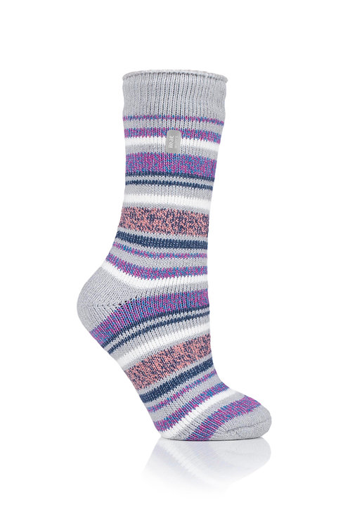 Ladies Heat Holders Twisted Stripe Abstract Dimension