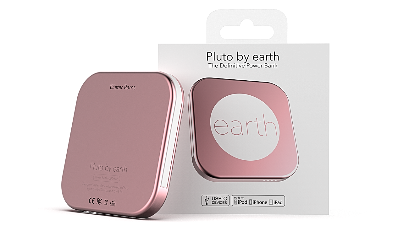 Pluto by earth
