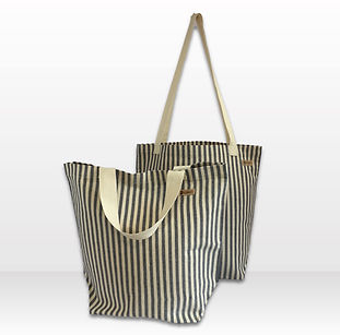 Shopping bag, navy and white.jpg