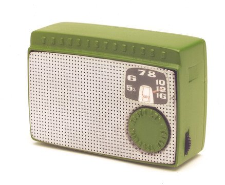 Replica of the first Transistor Radio
