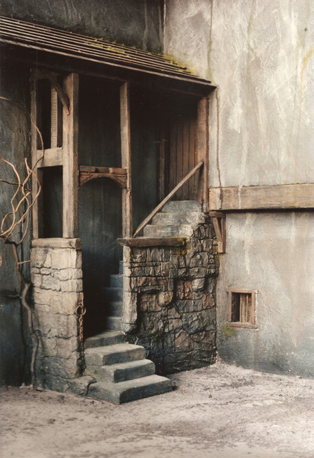 1/12 Model Medievil Building and Environment