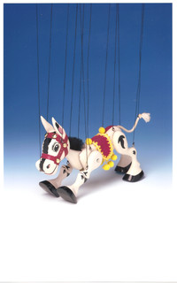 Muffin the Mule Puppet