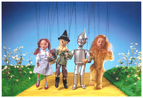 Wizard of Oz character collection Marrionettes