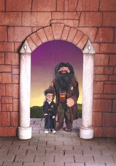 Harry Potter And Hagrid Marionettes