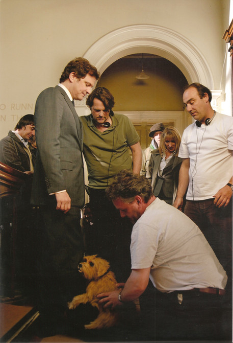 Colin Firth and Mr Darcy Puppet