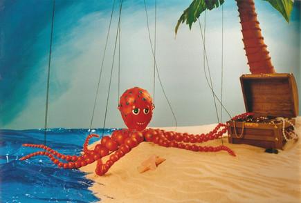 Octopus Marrionette