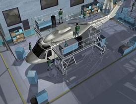 AgustaWestland AW139 layout optimization