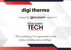 dIoT thermo Food Monitoring
