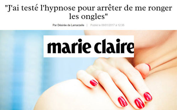hypnose Marie Claire