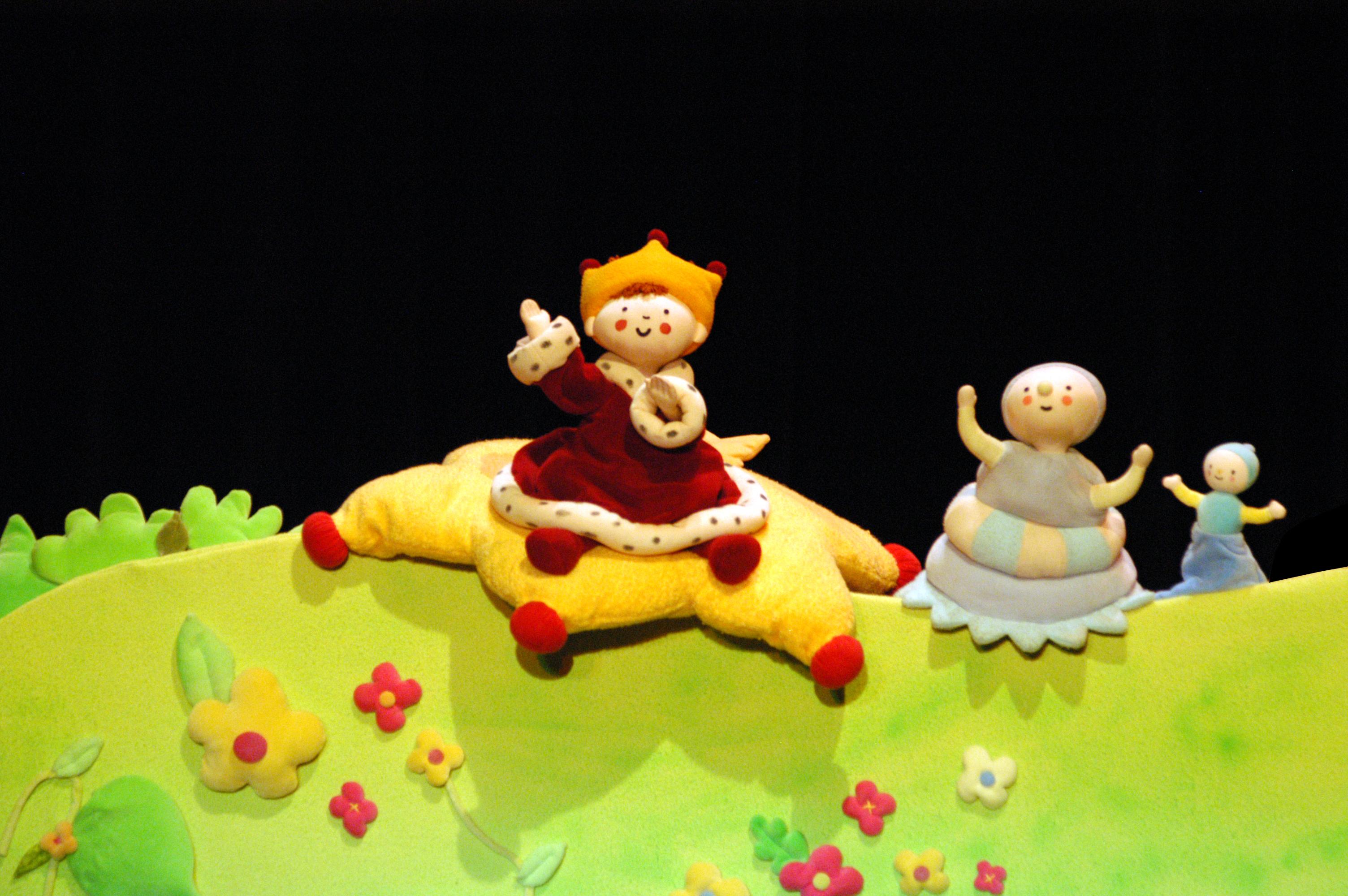 Doum, son doudou et le petit roi