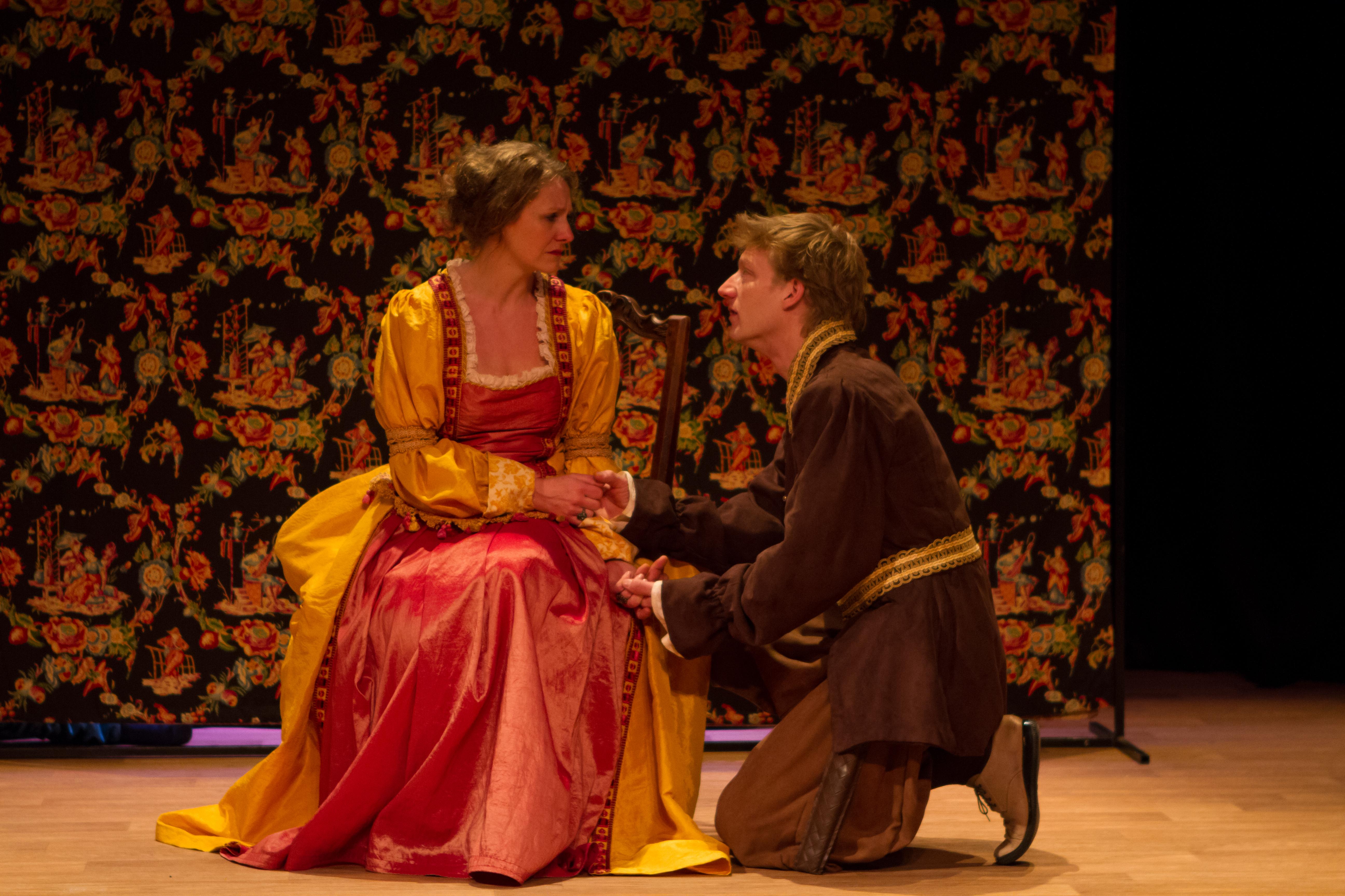 Hamlet et la reine