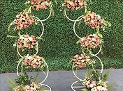 Flower Hoop Arch