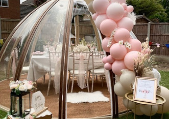 Our luxury Dome Hire Package