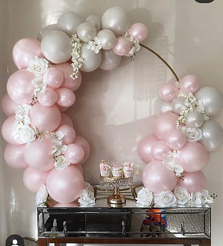 Baby Shower Party Balloon Hoop