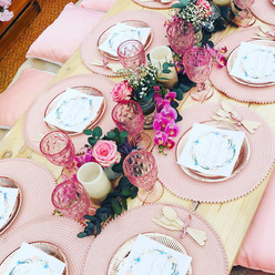 Hen Party Picnic Table