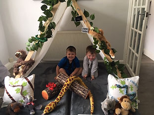 Boys Jungle Camp Out Bestie Teepee